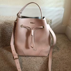 NWNT FURLA Stacy Crossbody Bag Color: Moonstone